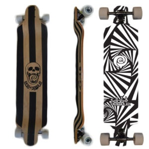 Easy People Longboards Drop Down Lowrider Longboard Complete DD-0-Watch-Out