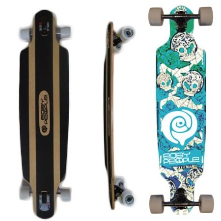Easy People Longboards Drop Through Lowrider Longboard Complete DT-0-Day