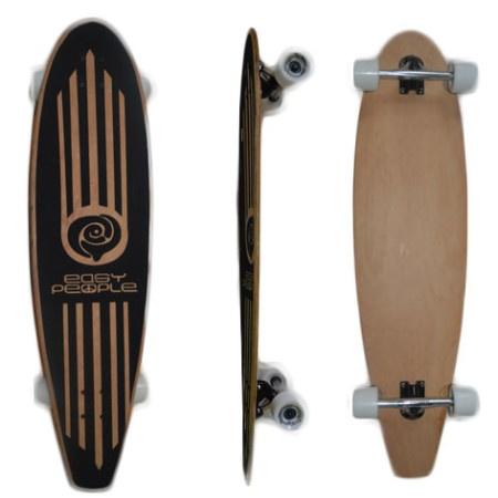 Easy People Longboards Pintail Longboard Complete PT-2 Blank Natural
