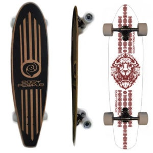Easy People Longboards Pintail Longboard Complete PT-2 Lion
