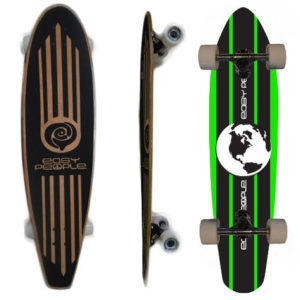 Easy People Longboards Pintail Longboard Complete PT-2 World