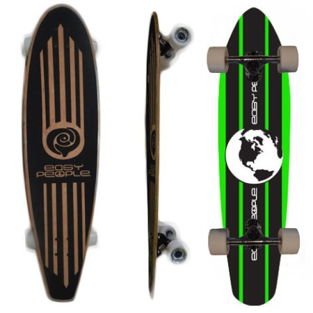 Easy People Longboards Pintail Longboard Complete PT-2 World