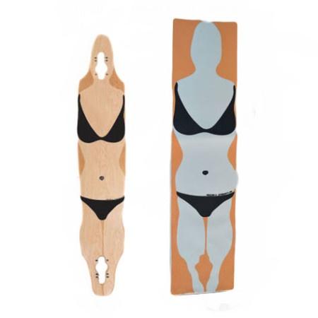 Easy People Longboards EP Custom Grip Tape For Longboard Decks Bikini