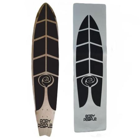 Easy People Longboards EP Custom Grip Tape For Longboard Decks Fish Bone