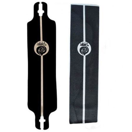 Easy People Longboards EP Custom Grip Tape For Longboard Decks Solid Line