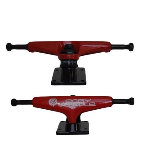 Easy People Skateboards Red Beaver Skateboard Truck Set
