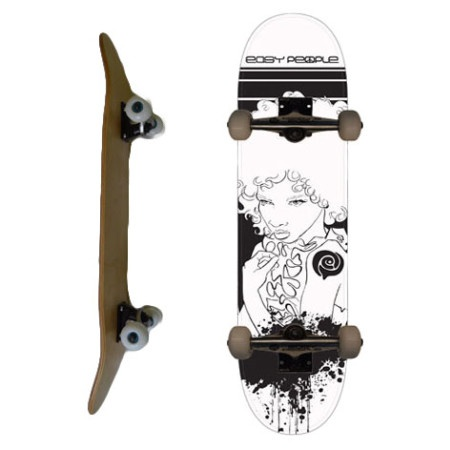 Easy People Skateboards SB-1 Complete Skateboard Decks-Afro-Girl