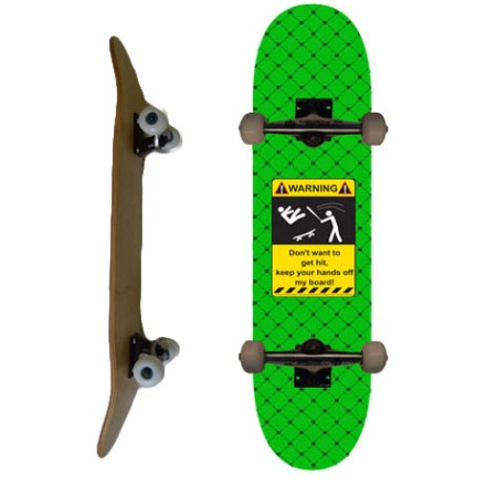Easy People Skateboards SB-1 Complete Skateboard Decks-Green-Hit