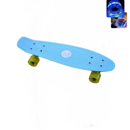 Easy People Skateboards Sharky Complete Skateboard Baby Blue