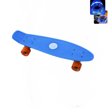 Easy People Skateboards Sharky Complete Skateboard Blue