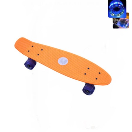 Easy People Skateboards Sharky Complete Skateboard Orange