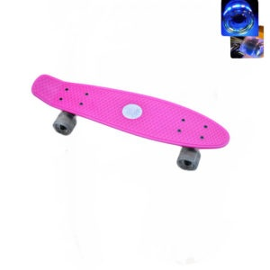 Easy People Skateboards Sharky Complete Skateboard Pink