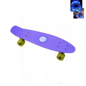 Easy People Skateboards Sharky Complete Skateboard Purple