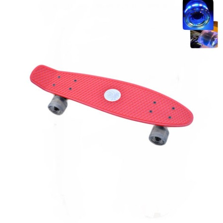 Easy People Skateboards Sharky Complete Skateboard Red