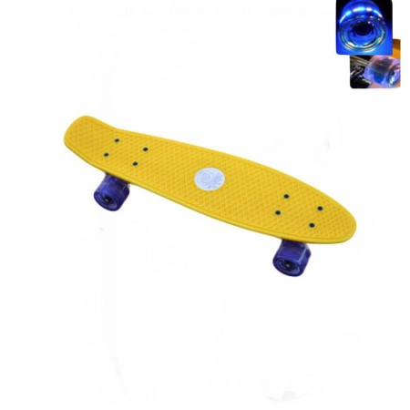 Easy People Skateboards Sharky Complete Skateboard Yellow