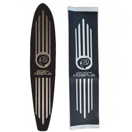 Easy People Longboards EP Custom Grip Tape For Longboard Decks Stripes