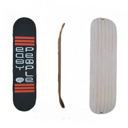Easy People Skateboards TSP2 Red Snow Skate Flatback