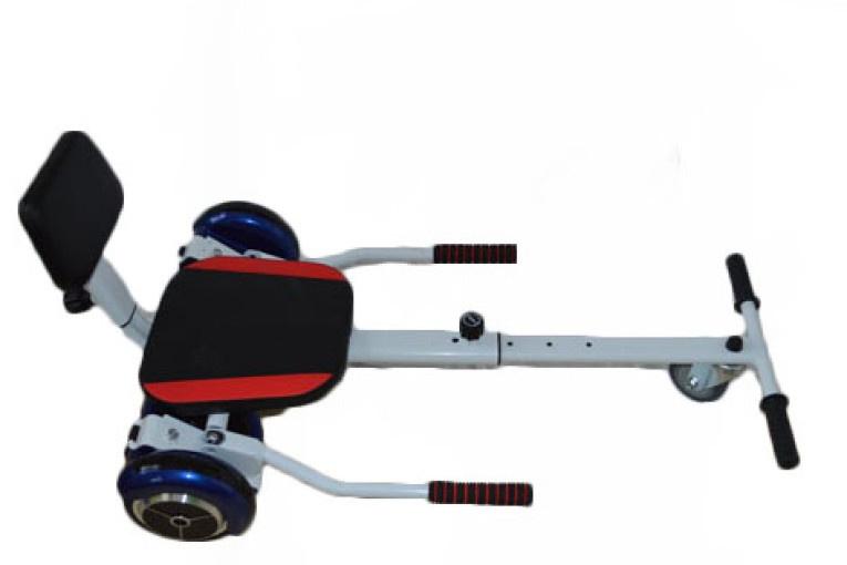 Hoverkraft- GO Kart- Blue Hoverboard top view
