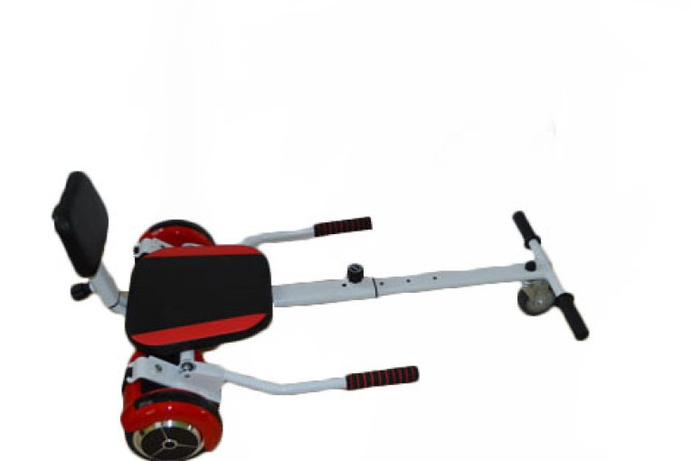 Hoverkraft- Go Kart- Red Hoverboard Top View