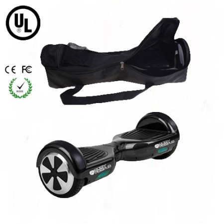 Easy People Hoverboard Black with Bag