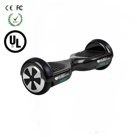 Easy People Hoverboard Two Wheel Balancing Scooter Black2 UL