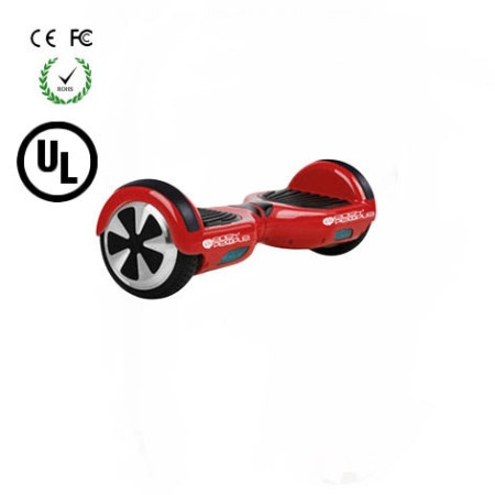 Easy People Hoverboard Two Wheel Balancing Scooter Red 2 UL