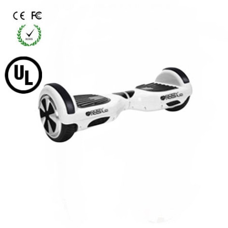 Easy People Hoverboard Two Wheel Balancing Scooter White 2 UL