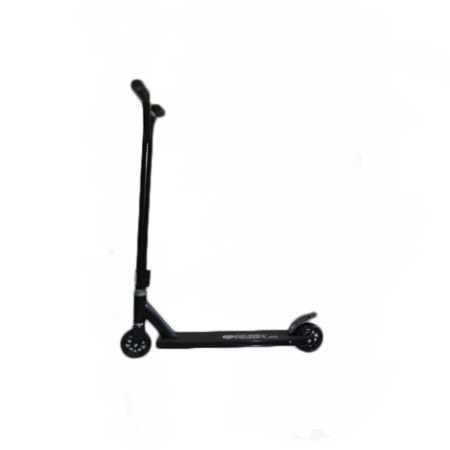 Easy People Stunt Scooter Cross Colour Black Handlebar Stunt Scooter With Black Deck