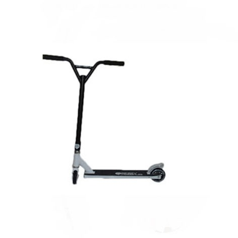 Easy People Stunt Scooters Cross Colors White Handlerbar with Black Deck