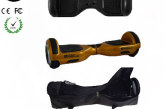 Easy People Hoverboards Black Hover Skin ( Silicone case) + Gold Hoverboard + Bag