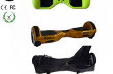 Easy People Hoverboards Green Hover Skin ( Silicone case) + Gold Hoverboard + Bag