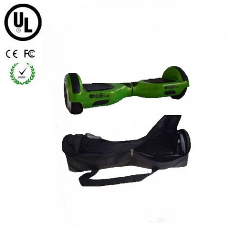 Easy People Hoverboard Green Two Wheel Self Balancing Motorized Scooter with Bag