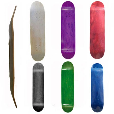 Easy People Assorted Blank Skateboard Decks
